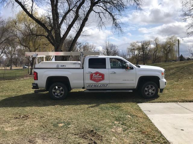 dillon plumbing pickup truck