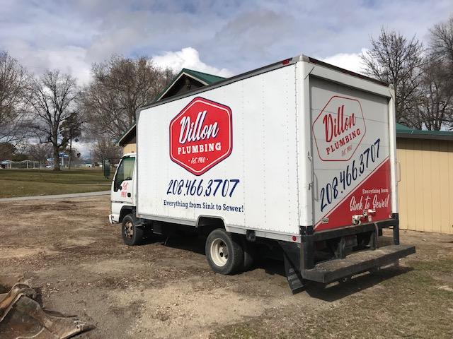 dillon plumbing truck
