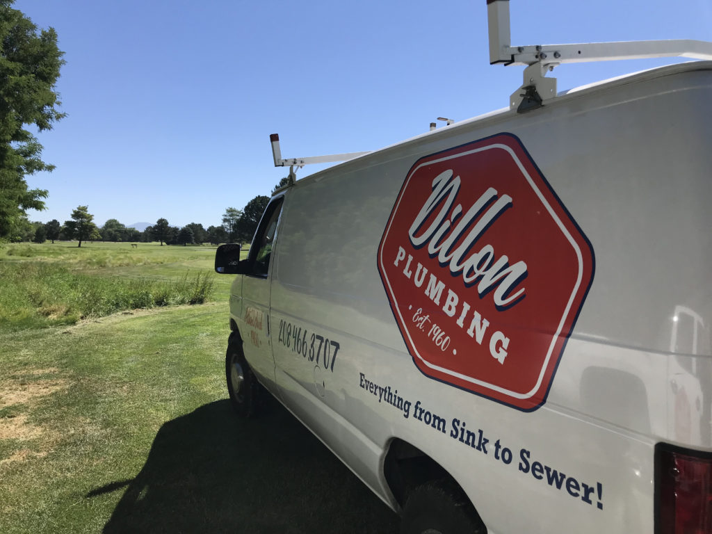 dillon plumbing repair van